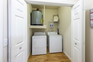 Two Bedroom Apartments for Rent in Northwest Houston, TX - Model Laundry Room